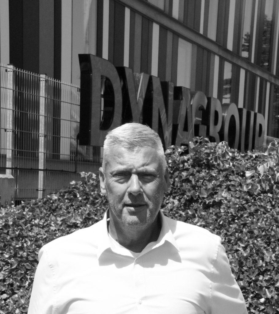 Foto van Gerry van Esch die via Coulant zijn nieuwe baan in de logistiek heeft gevonden bij Dynalogic