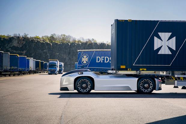 logistieke trend: autonoom rijdende vrachtwagen